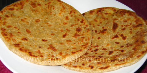 Aloo Parata by Silver
