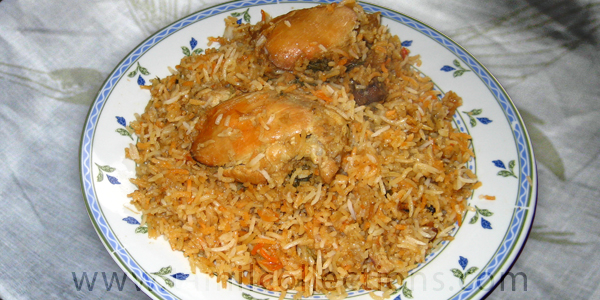 CHICKEN BIRYANI by Zareena Beevi
