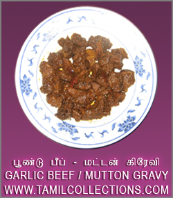 GARLIC BEEF MUTTON GRAVY by Janu